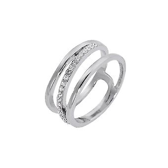 Fable Womens/Ladies Triple Band Fashion Ring