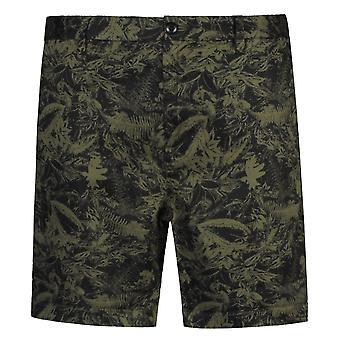 Rejouez les shorts Chino à motif floral classique