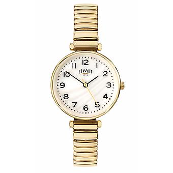 Limit | Womens Gold Plated Bracelet | Mother Of Pearl Dial | 60063.01 Watch