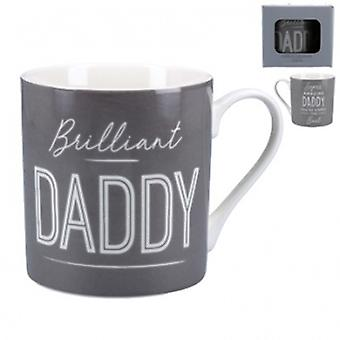 Gisela Graham Brilliant Daddy Mug