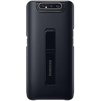 Samsung Galaxy A80 Protector Standing Cover-Negro