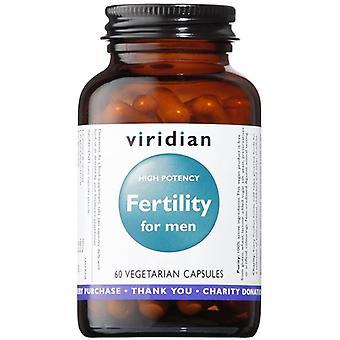 Viridian Fertility for Men Veg Caps (high potency) 60 (170)