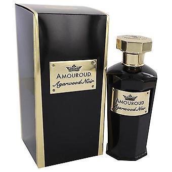 Agarwood noir eau de parfum spray (unisex) által amouroud 541826 100 ml
