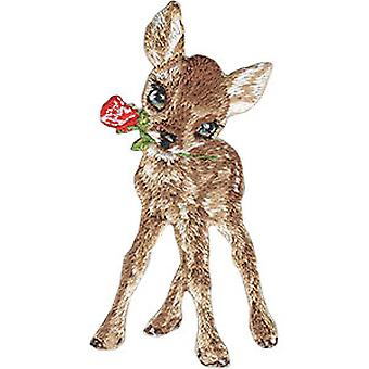 Patch - Animal Club - Deer Iron-On New Gifts Toys p-4537