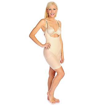 Slim 'N Lift Shaper Full Body Suit w/ Adjustable Straps Beige C415626