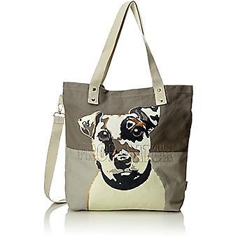 Adelheid Frohnatur Einkaufstasche - Grey Women's Bag (Schattengrau) 10x39x44cm (B x H T)