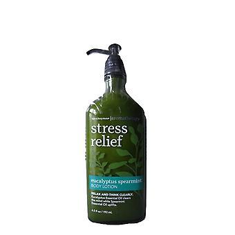 Kylpy & Body toimii aromaterapia stressin Help otus Eucalyptus Spearmint vartalo voide 6,5 oz/192 ml (pakkaus 2)