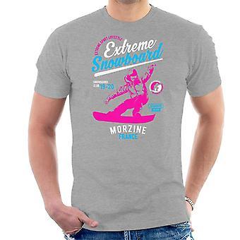 Extreme Snowboard '19 '20 Morzine France Men's T-Shirt