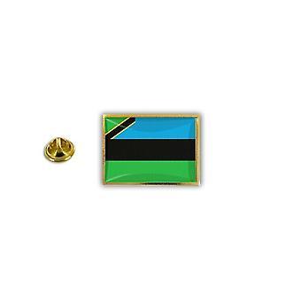 Pine PineS PIN badge PIN-apos; s metalen broche Papillon vlag Zanzibar