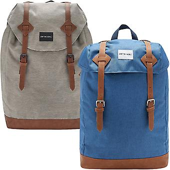 Animal Mens Motive Padded Two Strap School College Travel Backpack Rucksack Bag