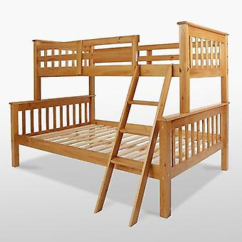 Neptuno Triple Cama Bunk - Pino Antiguo