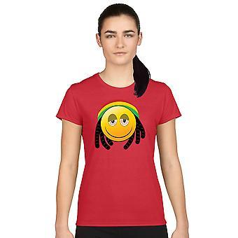 Junior's T Shirt African 420 Face