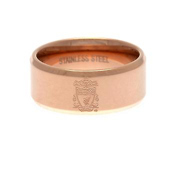 Liverpool FC Rose forgyldt ring