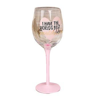 Mothers Day Gifts World's Best Wine Glass