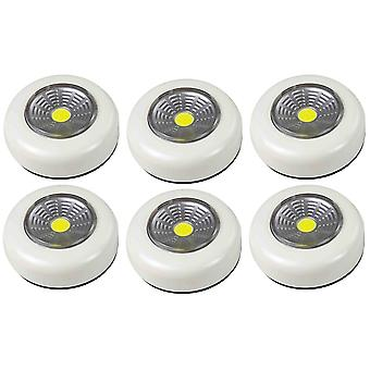 6X Arcas Push Light COB LED