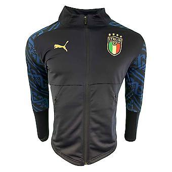 2019-2020 Italien Puma Stadium Away jakke (Peacot)-børn