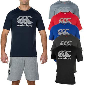 Canterbury Mens Core Vapodri Stor Logo QuickDry Andas T-shirt