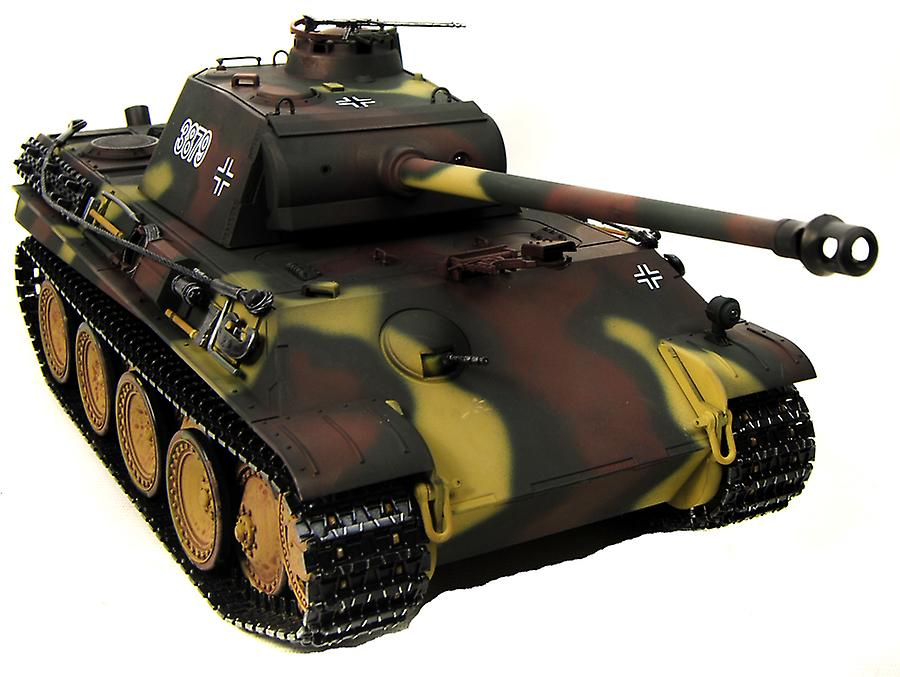 Taigen Hand Painted RC Tank - Metal Upgrade - Panther G - 360 Turret