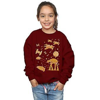 Star Wars Girls Gingerbread Battle Sweatshirt