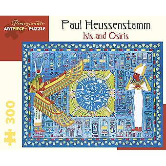 Paul Heussenstamm Isis and Osiris 300Piece Jigsaw Puzzle by Unknown
