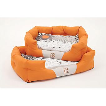 Petego Sun Blossoms Bolster Pet Bed, Large