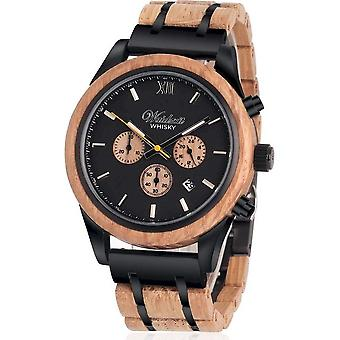 Men's Watch Waidzeit Chronograph Whisky Scott Highland - WH01