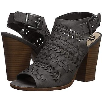 Fergalicious Women's Vagabond Heeled Sandal Denim 10 M US