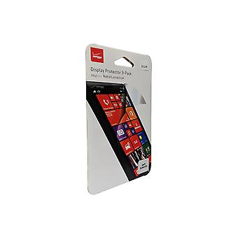 Verizon Anti-Scratch Screen Protectors for Nokia Lumia Icon (3 pack)