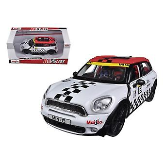 Mini Cooper Coutryman White #13 1/24 Diecast Car Model de Maisto