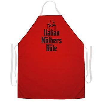 Italian Mother's Rule apron