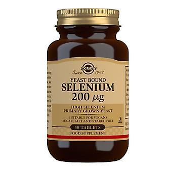 سولغار السيلينيوم 200ug (الخميرة ملزمة) علامات التبويب 50 (2540)