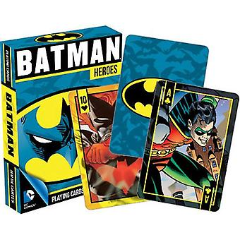 Dc comics - batman heroes playing cards