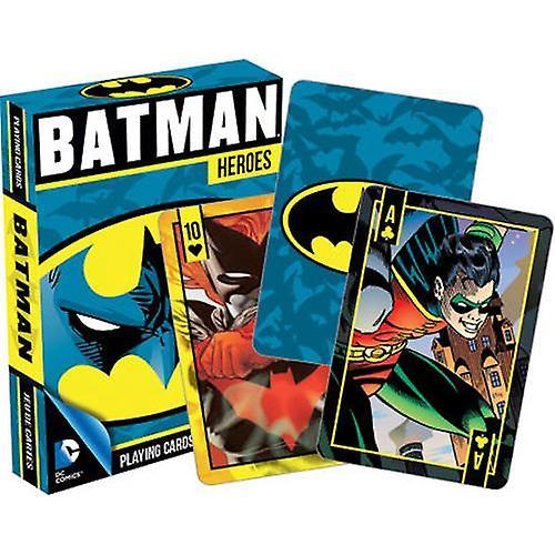 Dc comics - batman heroes playing cards