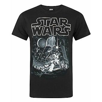 Star Wars ett nytt hopp officiella Affisch Män & apos, s Karaktär T-shirt