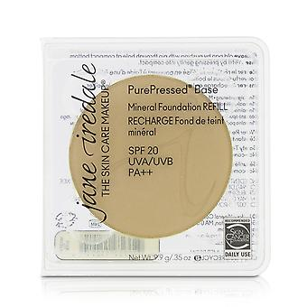 Pure geperste basis minerale foundation refill spf 20 warme zijde 208719 9.9g/0.35oz