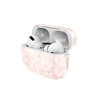 Airpods Pro Shell in Synthetic mother of pearl with hook!