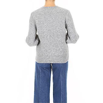 Closed C9612895l116 Women's Grey Wool Sweater
