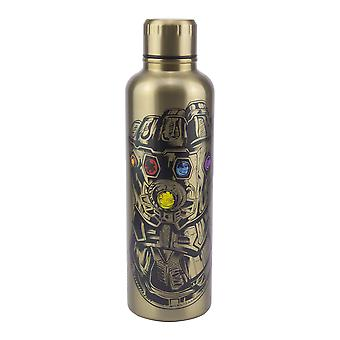 Marvel Avengers Endgame Water Bottle 490ml Stainless Steel Metal Leak Proof