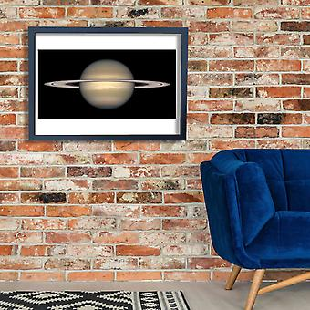 Hubble Telescope - Saturn from Hubble Poster Print Giclee