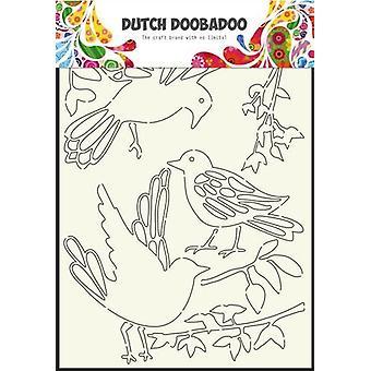 Dutch Doobadoo Dutch Stencil Art stencil Art Birds A4 470.715.807