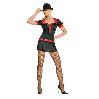 Sexy Gangsta Lady Costume for women