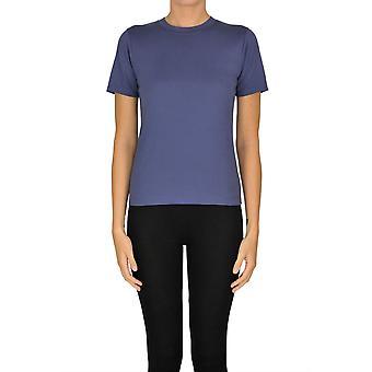 Acne Studios Ezgl151045 Kvinnor's Blue Cotton T-shirt