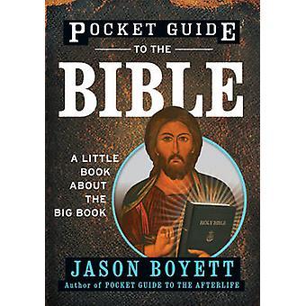 Pocket Guide Bible - pikku kirjan iso kirja ottanut Jason