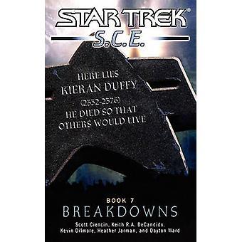 Star Trek Core of Engineers Breakdowns by Ciencin & Scott