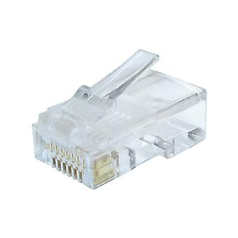 Category 6 UTP RJ45 Connector GEMBIRD LC-8P8C-002/10 Units