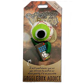 Watchover Voodoo Dolls Gogglebox Addict Voodoo Keyring