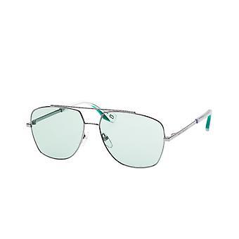 Sunglasses Men's Pilot silver/green