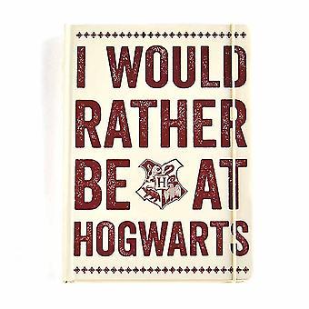 Half Moon Bay Harry Potter A5 Notebook Hogwarts Slogan