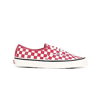 Vans Ezcr011002 Mænd's Hvid/rød Bomuld Sneakers