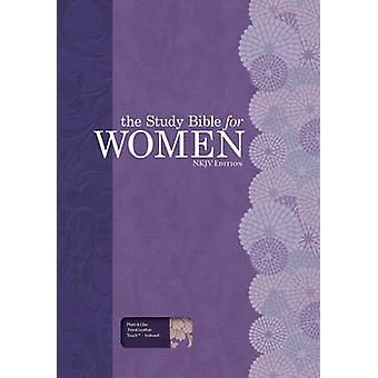The Study Bible for Women - NKJV Edition - Plum/Lilac Leathertouch - I